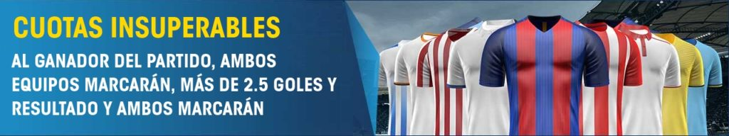 Cuotas Insuperables WilliamHill