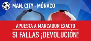 Promo champions Sportium Man City - Monaco