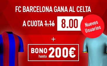 Sportium Supercuota liga Barcelona