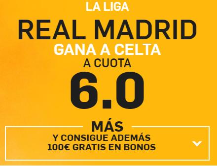 Supercuota Real Madrid betfair