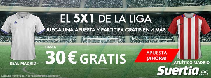 Luckia 5x1 liga Real Madrid Atletico Madrid