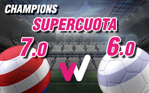 Wanabet Supercuota Champions R. Madrid At Madrid