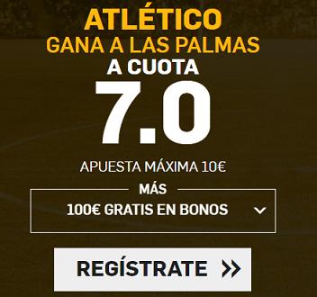 Supercuota Betfair Atletico Las Palmas