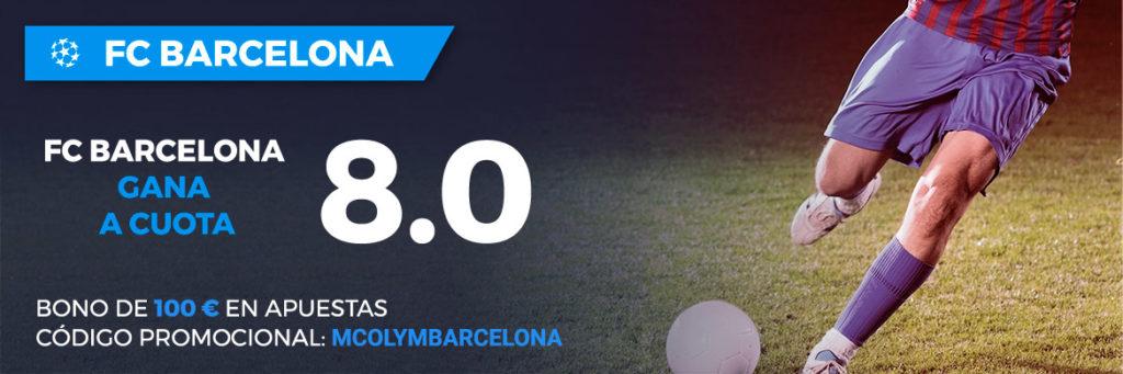 Supercuota Paston Champions League - Olympiacos vs FC Barcelona