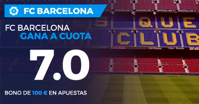 Supercuota Paston la Liga FC Barcelona gana a Athletic a cuota 7.0