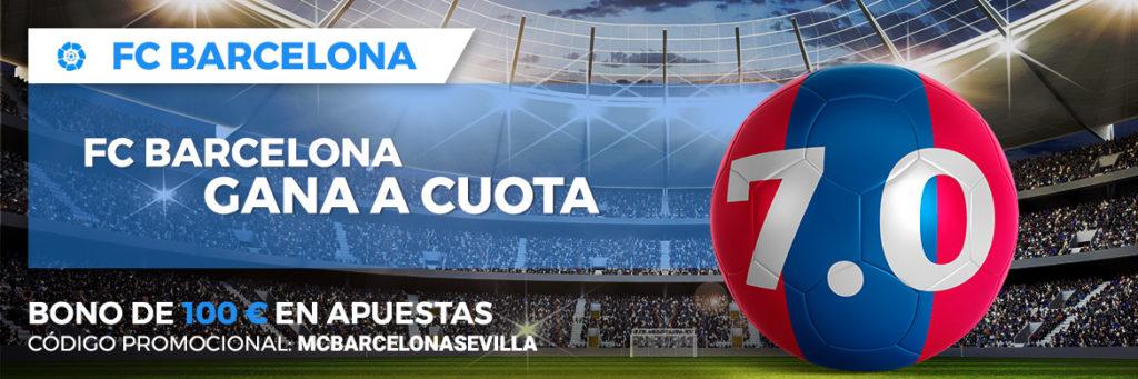 Supercuota Paston la Liga- Barcelona vs Sevilla
