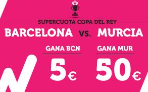 Supercuota Wanabet Barcelona Murcia