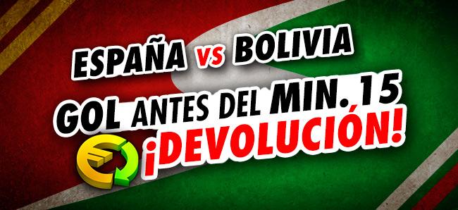 Sportium España-Bolivia