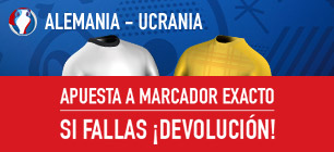 bono apuestas Eurocopa Alemania - Ucrania