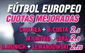 Wanabet supercuota futbol europeo