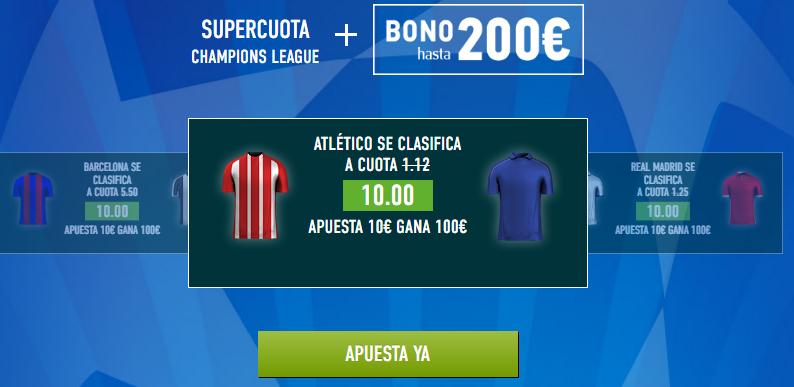 Supercuota Sportium Champions Atletico