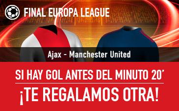 Sportium Final Europa League Ajax - Manchester United