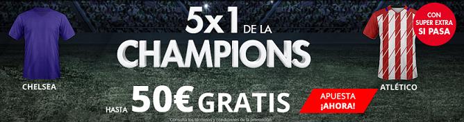 Suertia 5x1 Champions