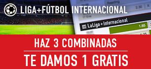 Apuestas Legales Sportium Liga Haz 3 combinadas te damos 1 gratis