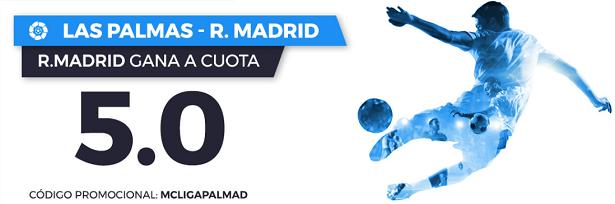 Apuestas Legales Supercuota Paston la Liga: Las Palmas - R. Madrid