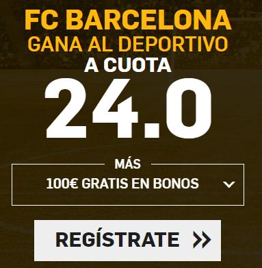 apuestas legales Supercuota Betfair la Liga FC Barcelona - Deportivo