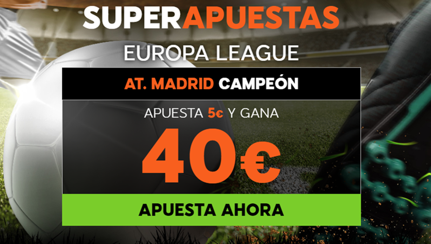 apuestas legales 888sport Supercuota Europa League At. Madrid vs Marsella