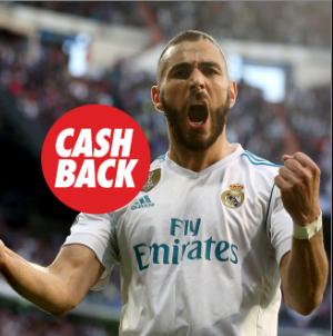 apuestas legales Circus la Liga Sevilla vs Real Madrid cashback