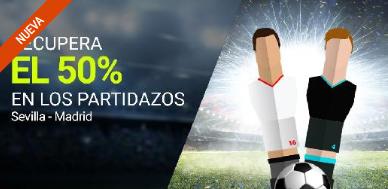 apuestas legales Luckia la Liga Recupera el 50% en Sevilla - R. Madrid