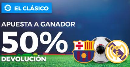 apuestas legales Paston el Clasico apuesta a ganador 50% devolucion
