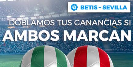 apuestas legales Paston la Liga Betis - Sevilla doblamos tus ganancias
