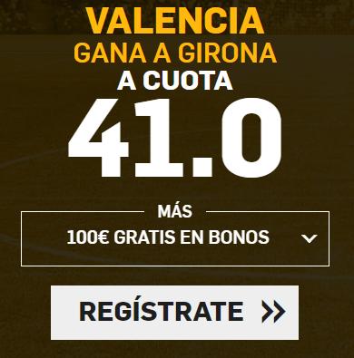 apuestas legales Supercuota Betfair la Liga Valencia - Girona