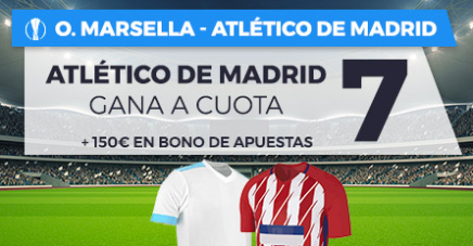apuestas legales Supercuota Paston Europa League Marsella vs Atlético de Madrid