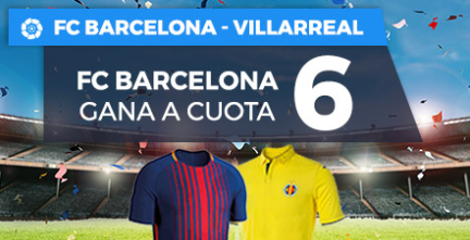 apuestas legales Supercuota Paston la Liga Barcelona - Villarreal