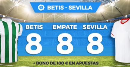 apuestas legales Supercuota Paston la Liga Betis - Sevilla