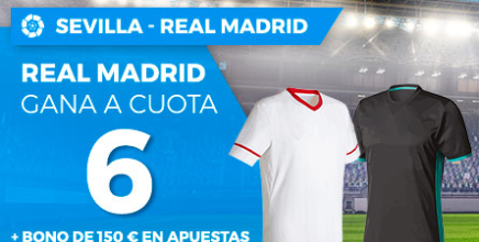 apuestas legales Supercuota Paston la Liga Sevilla vs Real Madrid