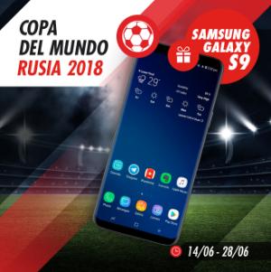 apuestas legales Circus Copa del Mundo Gana un Samsung Galaxy S9!